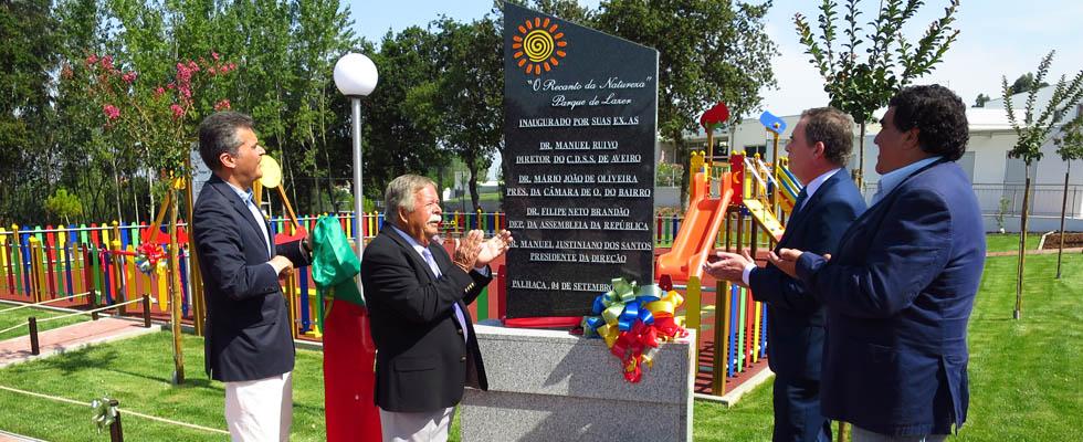 Parque de Lazer inaugurado